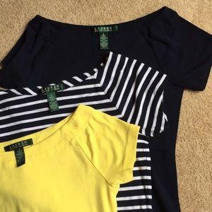 LRL boat shirts